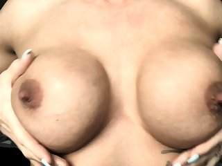 Milf with big nipples and lactating boobs