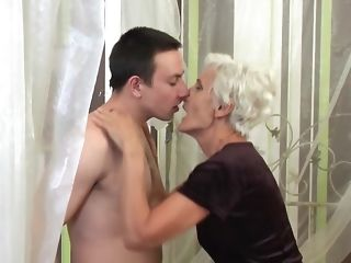 Interdict home intercourse stories with fur covered grannie & chesty mother porn tube