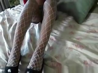 Black Ex Girlfriend In Red Cape Getting Pussy Eaten Out