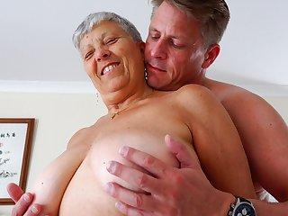 AgedLovE Savana and Marc Kaye Hardcore Sex Video