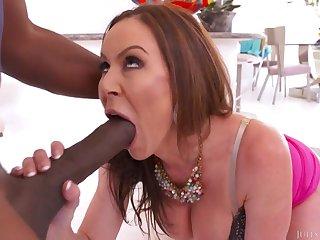 Kendra Lust - The Mandingo Challenge Interracial Porn