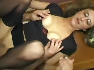 Dirty British Wife Takes It Up The Ass