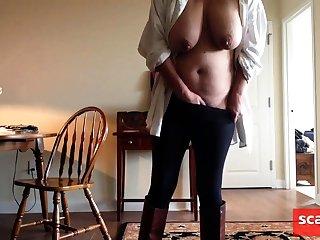 Saturday morning, masturbating and cumming hard