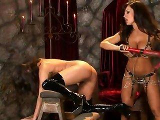 BDSM love making between lesbians - kinky whores