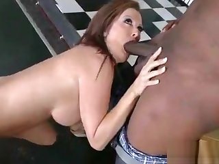 (raquel devine) Naughty Milf Get A Monster Black Cock To Ride On Cam vid-28