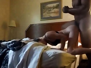 Blacked In Hotel Room