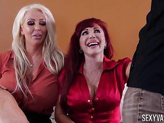Mature pornstars shared by their husbands - Alura Jenson, Sexy Vanessa