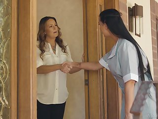Maid and house owner having lesbian sex - Elexis Monroe & Texas Patti