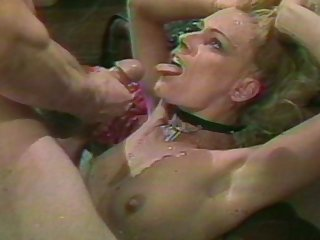 Retro video of a mature wife and her friend getting fucked hard