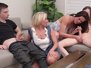 Payton Hall And Sofie Marie - Cougar Swap group sex