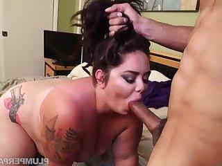 Big Babe Rub Down - BBW Vanessa london