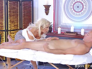 Leggy MILF Olivia Fox savors every second of a pile-driving fuck