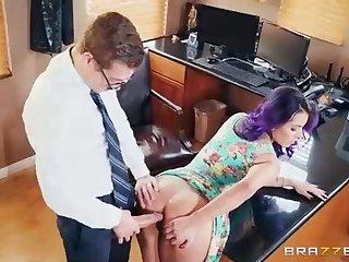 Yurizan Beltran is having horny fuck-fest in her office, with a boy she luvs a bunch