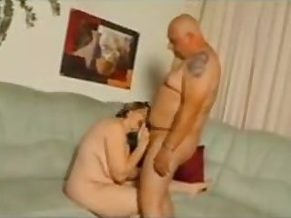 Milf with bald guy