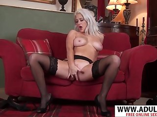 Posh MILF Solo Video