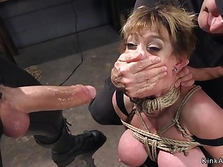 Huge jugs Housewife sodomized gangbang bdsm